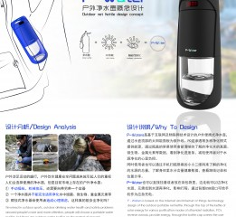 P-Water户外净水壶概念设计