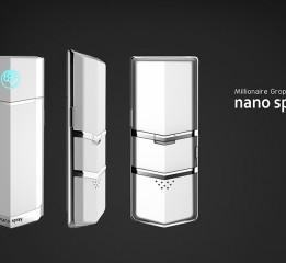 纳米美容保湿喷雾器 --意臣工业设计i