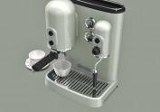 kitchenAid咖啡机-布光习作