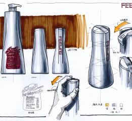 工业设计手绘效果图表现1