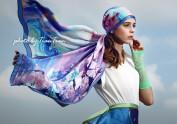 创意品牌丝巾设计