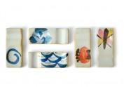 日式和风 全手绘 陶瓷 筷子架子 筷架