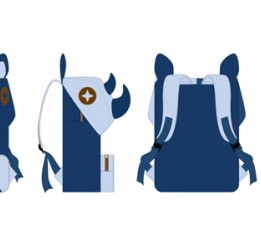 包包制作流程—牛仔犀牛电脑背包