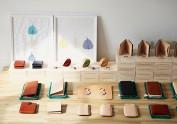 FOSTYLE植鞣牛皮钱包系列:handmadeb