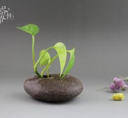 器世界原创纯手工粗陶花器