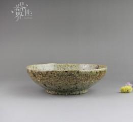 器世界原創手工粗陶個性果盤