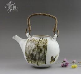 器世界精品茶具原創手繪孤品提梁壺器世界小編為你圖解茶藝器具之茶壺的分類
