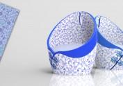 家具设计作业兰岚蓝椅