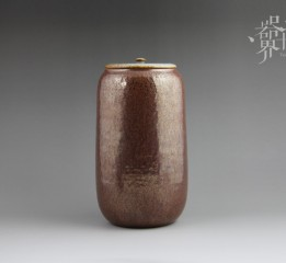 器世界-千里震云原创精品粗陶茶叶罐纯手工制作