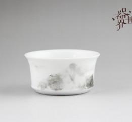 器世界原创手绘精品陶瓷茶具爱生活爱手工陶瓷也疯狂