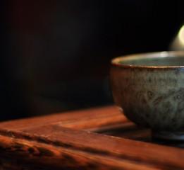 器世界原创手工精品茶具独自品茗心静如水