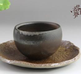 器世界精品茶具原创手工柴烧茶盏