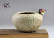 器世界精品茶具原创手工粗陶花器水洗