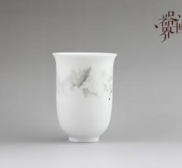 器世界原創手繪陶瓷精品茶具