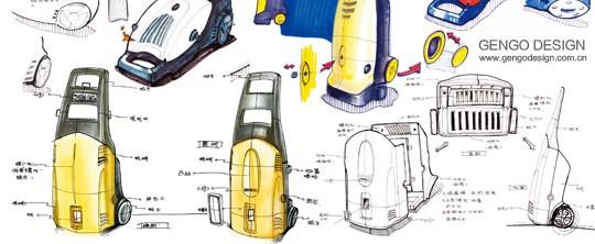 高压清洗机设计项目