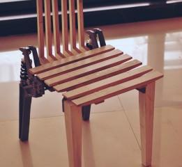 毕业设计海盗椅模型完成准备答辩