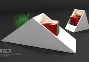 关于室内概念绿化系列2(书格类)