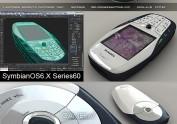 Nokia66003dmax建模VRAY渲染