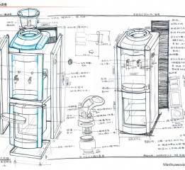 除湿机设计草图