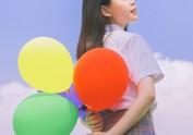 八月的夏天 × 手里的气球
