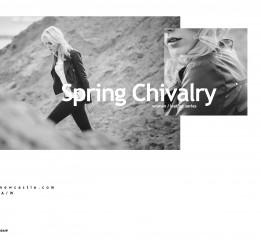 Spring Chivalry 女士皮衣2016A/W宣