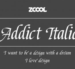 ZCOOL Addict Italic