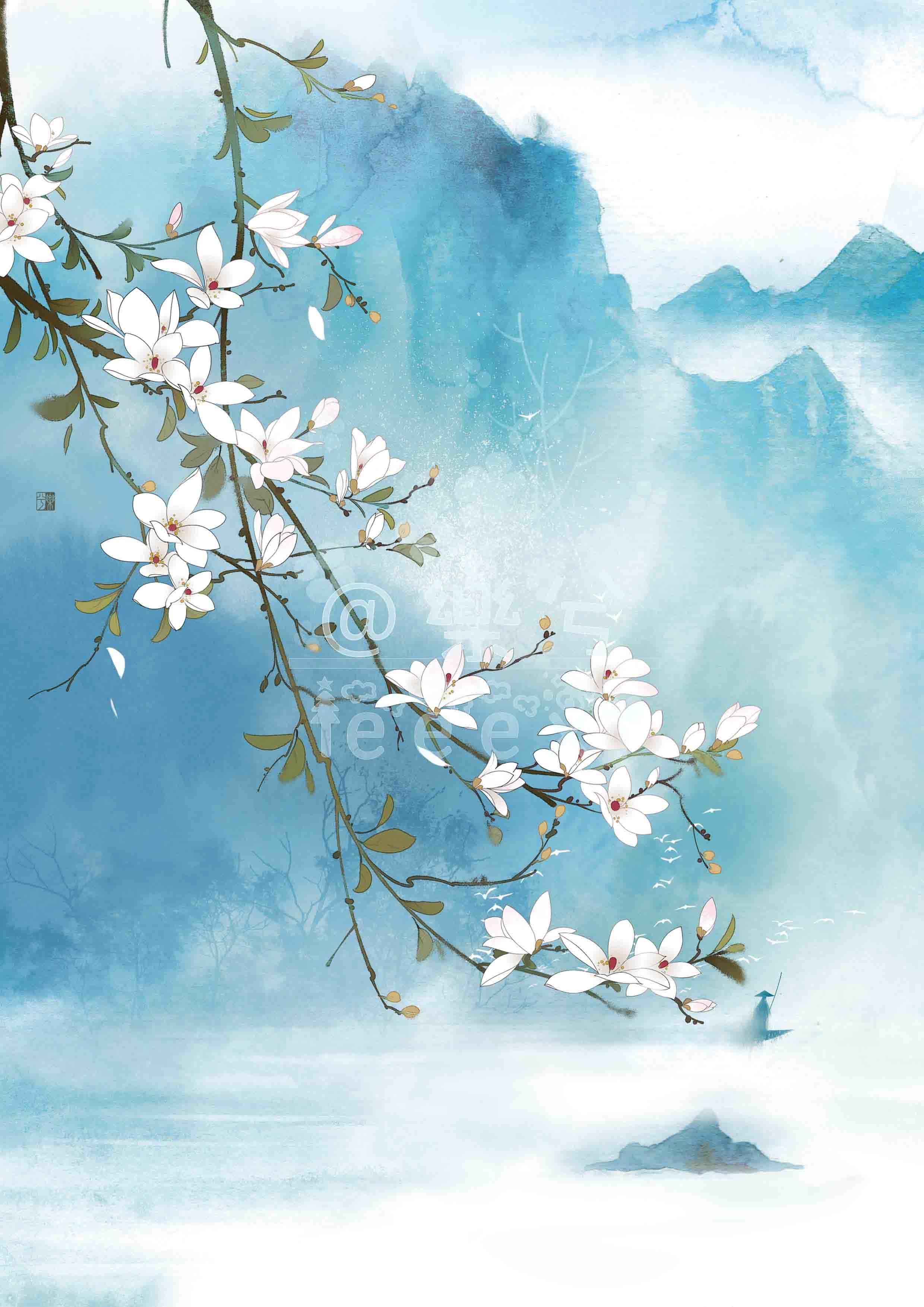 古风封面(1)-商业插画-插画-设计作品-中国设计之窗