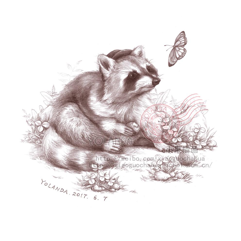 森系铅笔绘画——神奇动物园(三)