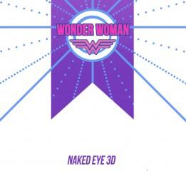 Wonder Woman--好奇的妇女