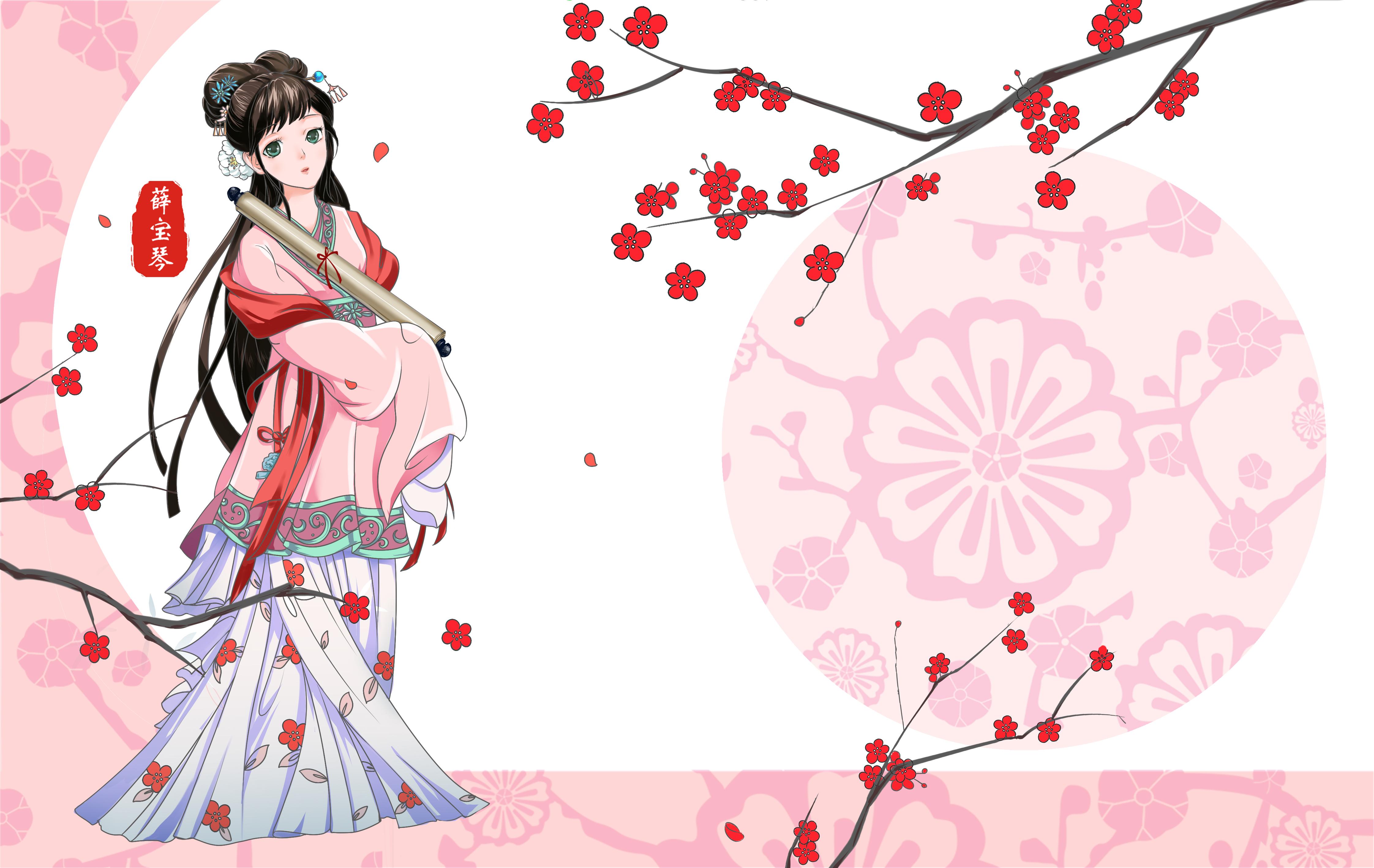 红楼梦之金陵十二钗又副册-商业插画-插画-设计作品