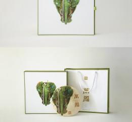 雨林古树茶--原生态系列包装插画之「