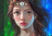 蓝灵守护女神