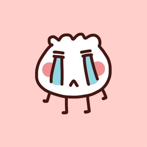 送你一大波可爱的饺子-单幅漫画-动漫-设计
