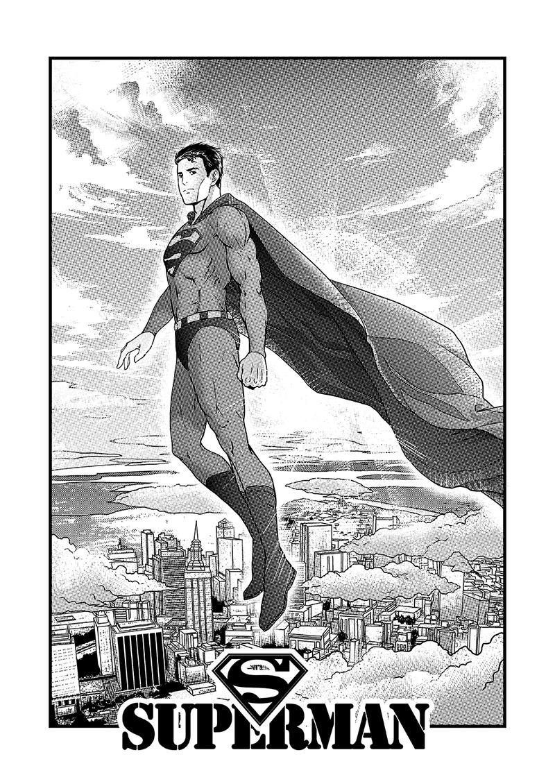 黑白网点-超级英雄系列-单幅漫画-动漫-设计作品-中国