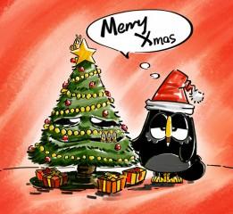 佐拉祝大家圣诞快乐!Merry Xmas!