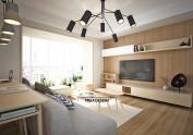 末楼自然木感住宅空间与家具设计