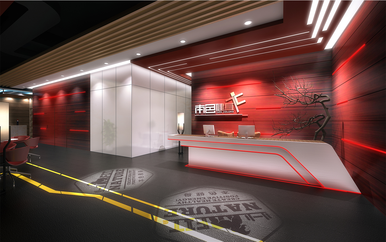 线条主题健身房装修设计-室内设计-空间-设计作品
