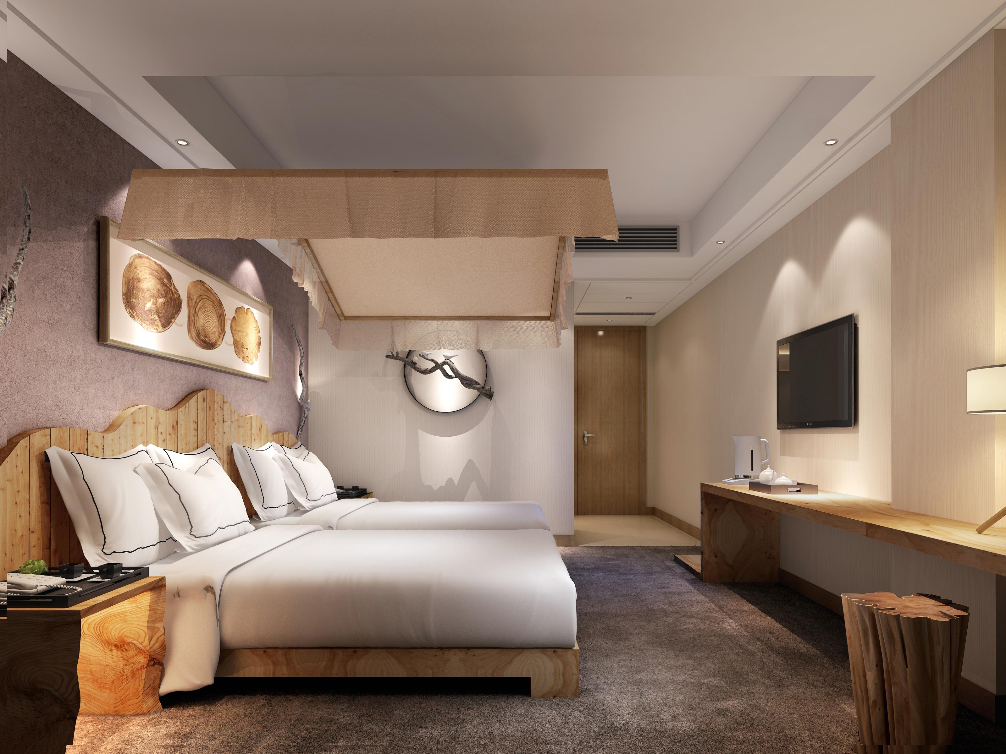 酒店客房-室内设计-空间-设计作品-中国设计之窗