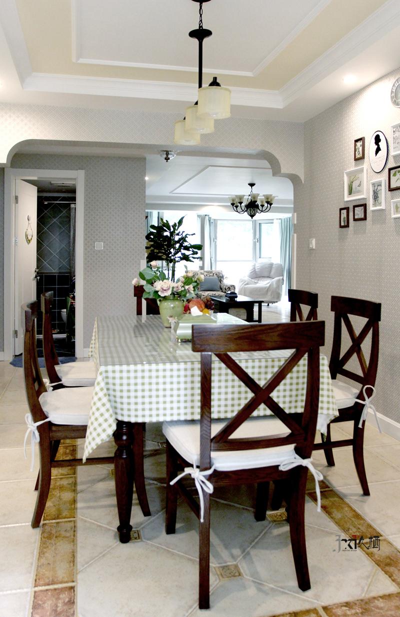 【久栖设计】混搭美式-温暖古朴优雅摩登-室内设计