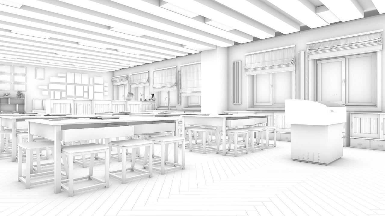 教室總集,-室內設計-空間-設計作品-中國設計之窗