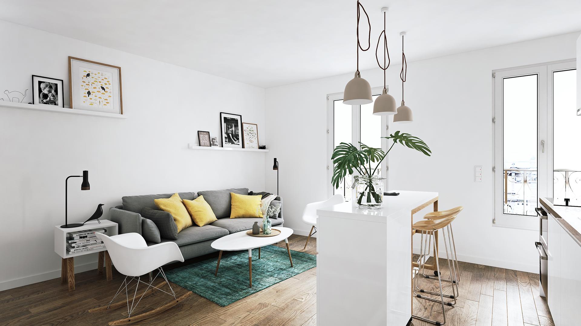 北欧小房间-室内设计-空间-设计作品-中国设计之窗