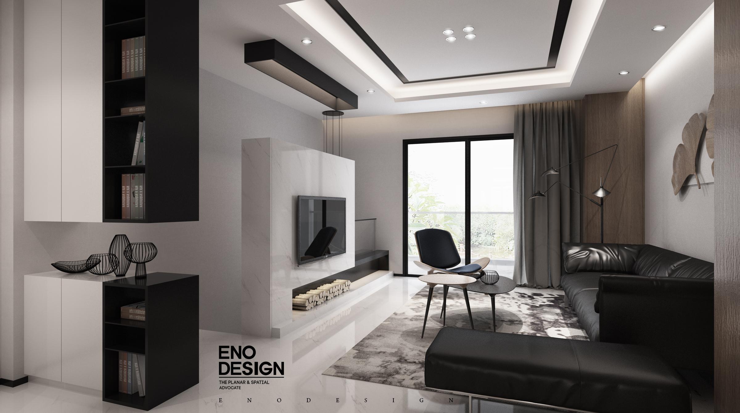 黑白灰有黑白灰的格調-室內設計-空間-設計作品-中國