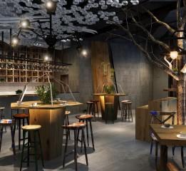 归本主义设计作品-北京ENJOY YOUR COFFEE