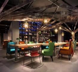 归本主义设计作品-呼市U°咖啡(咖啡厅设计)