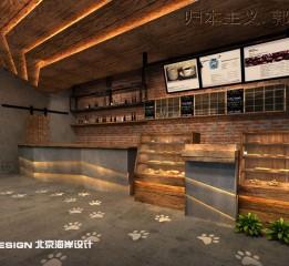 归本主义设计作品-上海漫猫咖啡(2)