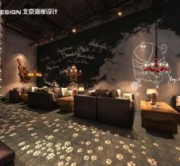 归本主义设计作品-上海漫猫咖啡(1)