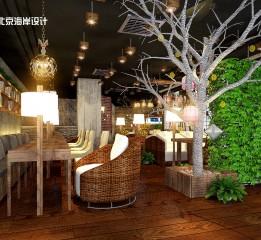 归本主义设计作品-长沙咖啡之翼咖啡厅