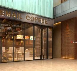 归本主义设计作品-黑龙江世贸大道逸美时光咖啡厅