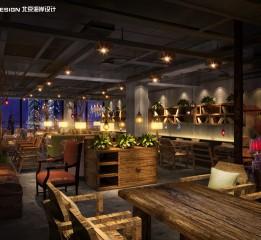归本主义作品-北京朝阳门漫咖啡设计