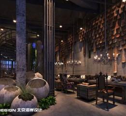广西南宁遇咖啡设计案例欣赏--北京海岸设计